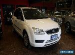 2006 Ford Focus LS CL Satin White Automatic 4sp A Hatchback for Sale