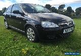 2006 VAUXHALL CORSA SXI+ BLACK LOW MILES PX TO CLEAR NO RESERVE for Sale
