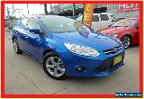 2013 Ford Focus LW MKII Trend Blue Automatic A Hatchback for Sale