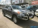 2012 Mazda BT-50 UP0YF1 GT Grey Automatic A Utility for Sale