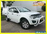 2011 Mitsubishi Triton MN MY11 GL-R Utility Double Cab 4dr Man 5sp 980kg 2.5DT for Sale