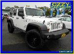 2010 Jeep Wrangler Unlimited JK MY09 Sport (4x4) White Manual 6sp M Softtop for Sale