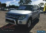 2007 Mitsubishi Pajero NS VR-X LWB (4x4) Silver Automatic 5sp A Wagon for Sale