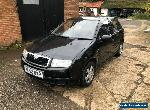 Skoda Fabia 1.4 Blackline Limited Edition 5dr * LOW MILES * BRAND NEW MOT * for Sale