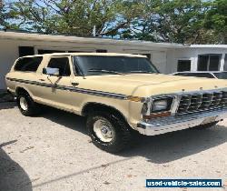 1979 Ford Bronco XLT Ranger for Sale