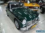 1969 MG Midget Sports British Racing Green Manual 4sp M Roadster for Sale