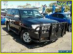 2003 Toyota Landcruiser UZJ100R Sahara (4x4) Black Automatic 5sp A Wagon for Sale