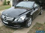 2012 Mercedes E Class 250 Blue Efficiency Avantgarde 2.1 Diesel Turbo for Sale