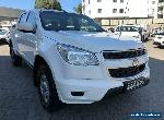 2015 Holden Colorado RG MY15 LS (4x4) White Automatic 6sp A Crew Cab P/Up for Sale