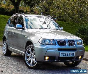 BMW X3 3.0D M SPORT AUTO 2006MY WITH FSH+LEATHER+SATNAV+18 INCH WHEELS+TOP SPEC! for Sale