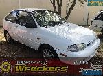 FORD FESTIVA WF 2000 WHITE HATCH MANUAL for Sale