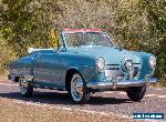 1951 Studebaker Champion Regal Deluxe Convertible for Sale