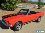 1967 Ford Mustang GT Convertible for Sale