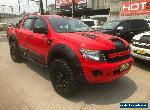 2013 Ford Ranger PX XL Red Automatic A Utility for Sale