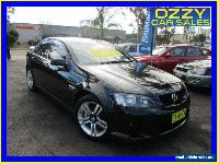 2008 Holden Commodore VE MY08 SV6 Black Automatic 5sp A Sedan for Sale