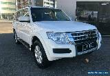 2017 Mitsubishi Pajero NX MY17 GLX LWB (4x4) White Automatic 5sp A Wagon for Sale