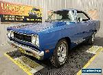 1969 Plymouth Satellite 2dr Hardtop for Sale