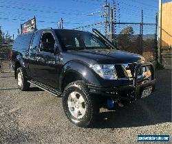 2010 Nissan Navara D40 ST-X Black Automatic A Utility for Sale