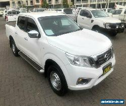 2017 Nissan Navara D23 Series II RX (4x2) White 7 SP AUTOMATIC for Sale