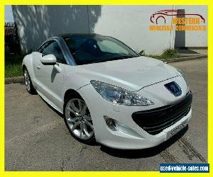 2011 Peugeot RCZ Coupe 2dr Man 6sp 1.6T White Manual M Coupe for Sale