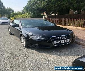 Audi A3 2.0tdi convertible black  for Sale