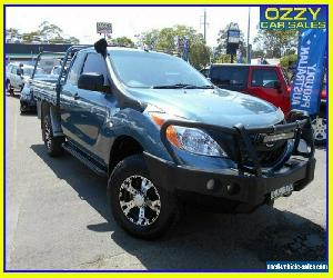 2012 Mazda BT-50 XT (4x4) Blue Manual 6sp M Freestyle C/Chas for Sale