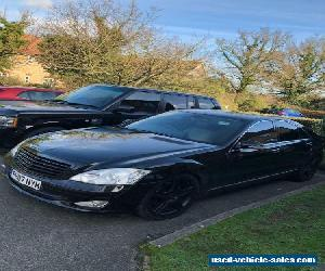 2007 Mercedes S CLASS S320 cdi  Diesel  fully blacked out for Sale