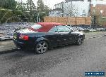 Stunning Black Audi S4 Convertible *Red Roof*  4.2, 6 speed man, Sat Nav! for Sale