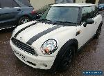 2009 MINI HATCHBACK 1.4 ONE 3DR MANUAL NON RUNNER / SPARES OR REPAIR for Sale