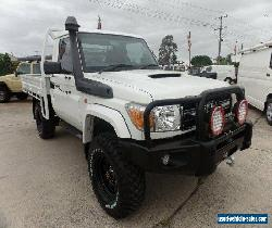 2012 Toyota Landcruiser VDJ79R Workmate (4x4) Cab Chassis for Sale
