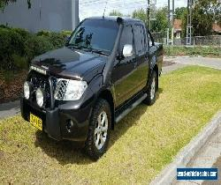 2013 Nissan Navara D40 MY12 ST-X Blackline Edition (4x4) Black Automatic 7sp A for Sale