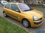 2003 RENAULT CLIO 1.2 16V DYNAMIQUE 3 DOOR IDEAL FIRST CAR for Sale