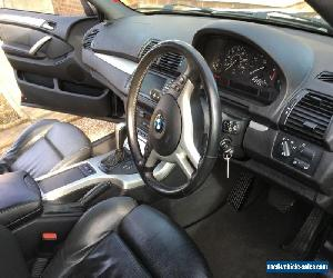 BMW X5 3.0i sport 5dr petrol black full service history for Sale