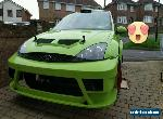 Ford Focus Cosworth WRC Trimmed Rolling Shell RWD A1 Rallysport Conversion for Sale