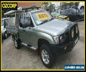 2004 Toyota Hilux VZN172R (4x4) Silver Automatic 4sp A X Cab Pickup for Sale
