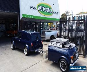 PANELVAN MINI Good for the preppers..Self sufficient with Beer keg & BBQ trailer for Sale