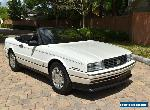 1993 Cadillac Allante Convertible Coupe (STD is Estimated) for Sale