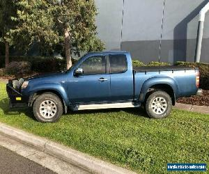 2007 Mazda BT-50 B3000 DX (4x4) Blue Manual 5sp M Dual Cab Pick-up for Sale