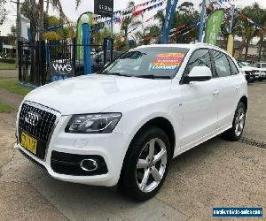 2011 Audi Q5 8R TDI White Automatic A Wagon for Sale