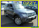 2008 Mitsubishi Pajero NS VR-X LWB (4x4) Grey Automatic 5sp A Wagon for Sale