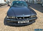 Very Rare BMW 7 series 3.0 V8 AC SCHNITZER Full body kit,suspension from factory for Sale