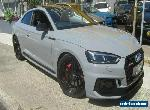 2017 Audi RS5 F5 MY18 2.9 TFSI Quattro Nardo Grey Automatic 8sp A Coupe for Sale