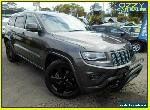 2014 Jeep Grand Cherokee WK MY14 Blackhawk (4x4) Grey Automatic 8sp A Wagon for Sale