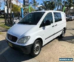 2007 Mercedes-Benz Vito 639 109CDI White Manual M Van for Sale