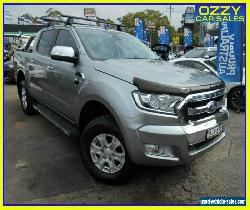 2016 Ford Ranger PX MkII XLT 3.2 (4x4) Grey Automatic 6sp A Dual Cab Utility for Sale