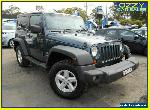 2007 Jeep Wrangler JK Sport (4x4) Blue Manual 6sp M Softtop for Sale