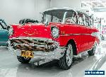 1957 Chevrolet Bel-Air Red Automatic A Sedan for Sale