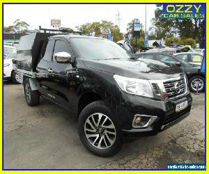 2018 Nissan Navara D23 Series III MY18 RX (4x2) Black Manual 6sp M King C/Chas for Sale