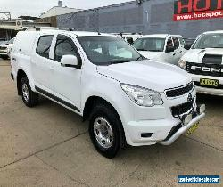 2015 Holden Colorado RG LS White Automatic A Utility for Sale