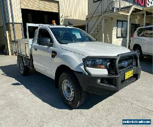 2016 Ford Ranger PX MkII XL White Manual M Cab Chassis for Sale